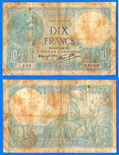 France 10 Francs 1941 4 December Serie E Minerve Europe Frcs Frcs Free Ship Wld