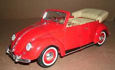 1/18 Volkswagen Beetle Diecast Model 1951 VW Cabriolet Kafer Beetle Maisto 31826