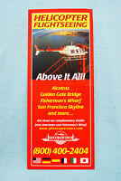 San Francisco Helicopter Tours - Helicopter Flightseeing - 2001 - 2002