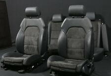 orig Audi A6 4F Lederausstattung Leder Alcantara Sportsitze Sitze leather seats