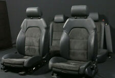 Originale Audi A6 4F Interni in pelle Alcantara Sedili Sportivi