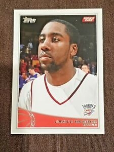 James Harden Topps 2009'10 Rookie Card. Brooklyn Nets~Pack Pull.SHARP! CENTERING