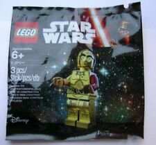 Lego Star Wars Force Awakens C-3PO with red arm sealed promo polybag 5002948