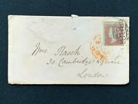 Postal History, Cover Winchester to Cambridge Square, London 1854, Rasch, RF4