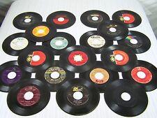 "Lot of 20 7"" Vinyls Records Brenda Lee Bill Darnel Dodie Stevens Clyde McPhatter"