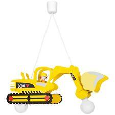 Deckenleuchte Deckenlampe Kinderzimmer Bagger 2x E27/max.60W * ELOBRA