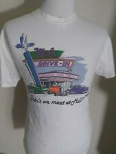 Mels The Original American Diner Mens L Graphic T-Shirt San Francisco Graffiti