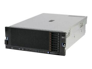 IBM X3850 X5 2 x E7-4850 2.0GHz 10 Core 8GB RAM M5015 Raid 8 Bay