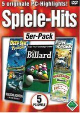 SPIELE-HITS - 5 PC-SPIELE - PC ?