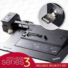 Lenovo T431s T430s T430u T410s L530 ThinkPad Mini Dock Series 3 Replicator + Key