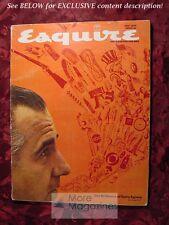 ESQUIRE magazine May 1970 BRILLIANCE OF SPIRO AGNEW RAQUEL WELCH MUHAMMAD ALI