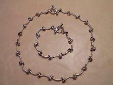 Fine Silver Jewellery Set