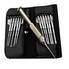 Excelente Instrumento De Precisión Joyeros Juego De Destornilladores-ranurados, Phillips y Torx