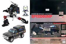 Transformers obra maestra BADCUBE OTS-11 speedbump también conocido como MP Trailbreaker sin usar y en caja sellada