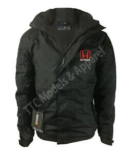 Honda Regatta Fleece Lined Waterproof Jacket with Embroidered Logo
