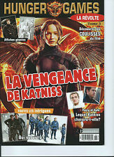 *HUNGER GAMES* MAGAZINE TOME 3 *DEC  2014*  MONTREAL 45 PAGES, FRENCH RARE