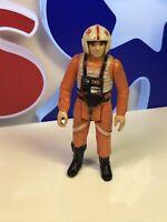 Vintage Star Wars LUKE SKYWALKER X-WING PILOT 1978 Hong Kong Kenner