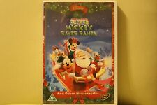 Mickey Mouse Clubhouse Mickey Saves Santa Disney DVD Royal Mail 1st Class P&P