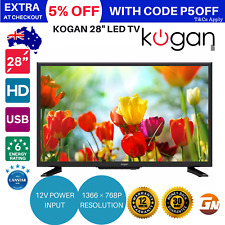 "Kogan 28"" LED TV Built-in PVR HDTV (Series 6 LH6000) 1366 × 768p HDMI USB 12V"