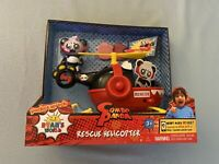 NEW Ryan's World Rescue Helicopter Disc Launcher Action Figure Brand New