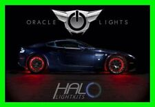RED LED Wheel Lights Rim Lights Rings by ORACLE (Set of 4) for JEEP MODELS