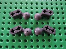 Lego 4 x Technic Liftarm 1x2 mit Kugelkopf 50923 neu dunkelgrau 7066 8107 75040