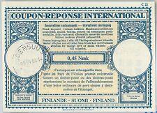 61041 - COUPON RESPONSE INTERNATIONAL London Model: FINLAND 1964