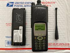 Motorola XTS5000 M3 UHF-L 380-470 MHz FPP P25 Digital IMBE Includes Battery Ant