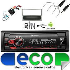 Vauxhall Meriva A Facelift CD30 Pioneer Car Stereo MP3 USB & Silver Fascia Kit