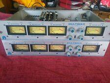 Vintage années 1970 Pacific enregistreurs Multimax compresseurs desservies & calibrée Paire