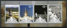 Niue 2019 MNH Apollo 11 Moon Landing 50th Anniv 4v M/S Space Stamps