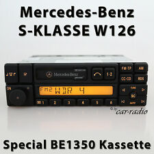 Original Mercedes Special BE1350 Becker Radio W126 Car Radio S-CLASS Box