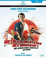 Die tollen Abenteuer des Monsieur L.(Jean-Paul Belmondo) Blu-ray Disc NEU + OVP!
