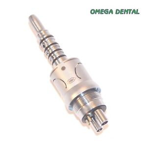 W&H 5-Hole Handpiece Coupler  RA-25  Roto Quick  6 Month Warranty Omega Dental