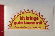 Aufkleber/Sticker: Ich Bringe Gute Laune Mit Costa-Del-Breitling (180416136)