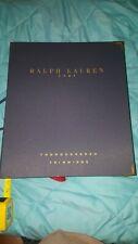 """☄Rare Ralph Lauren Home Catalog- """"Thoroughbred Trimmings"""" tassles-fringe-samples"""