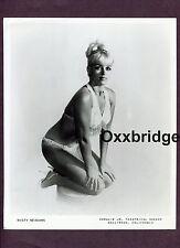 Misty Meadows Burlesque Stripper Hot Body 1960 Original Nude Booking Pinup Photo