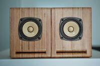 NEW Line speaker box for Fostex FE87E -FE83E pair Japan models BS-8