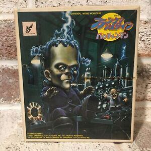 Bandai Wind Up Frankenstein Toy Vintage Japanese Halloween Universal Studios