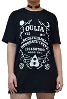 Satanic Ouija Board T Shirt Gothic Top Black Occult Alternative Clothing