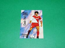CLAUDE PUEL FOOTBALL CARD PREMIUM 1994-1995 AS MONACO ASM LOUIS II PANINI