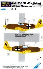 LF Models Decals 1/48 German ZIRKUS ROSARIUS P-51C MUSTANG Part 2