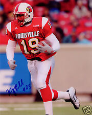 Kerry Rhodes Louisville Cardinals Football SIGNED 8x10 Photo COA!