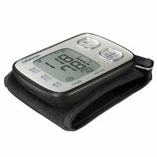 kt0758 Omron wrist sphygmomanometer auto blood-pressure meter Silver HEM-6220-SL