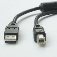For Brother / HP / Canon Pixma USB 2.0 Printer Cable Cord A-B 6FT-YellowKnife