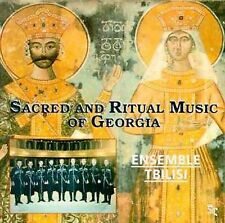 FREE US SHIP. on ANY 2 CDs! NEW CD Ensemble Tbilisi: Sacred & Ritual Music of Ge