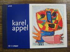 xxx NVPH Prestigeboekje nr. 13 - Karel Appel. Cat.w. € 30,--
