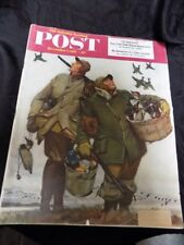VINTAGE MAGAZINE~SATURDAY EVENING POST~DEC. 1, 1951~FCC DETECTIVES
