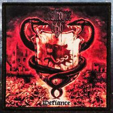 Deströyer 666 - Defiance   Printed Patch   Thrash / Black Metal Band