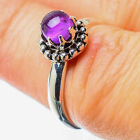 Amethyst 925 Sterling Silver Ring Size 6.25 Ana Co Jewelry R25681F